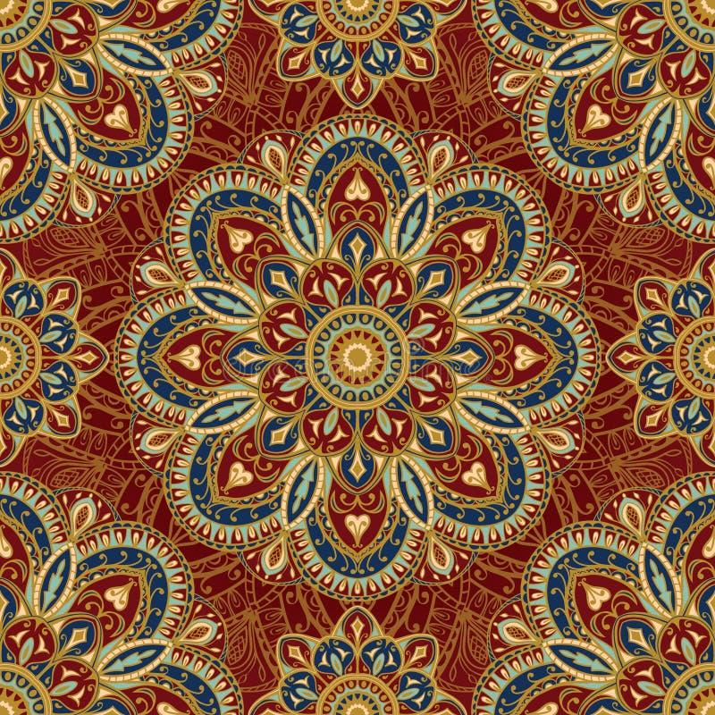 stilisiertes orientalisches mittelalterliches muster vektor abbildung illustration von. Black Bedroom Furniture Sets. Home Design Ideas
