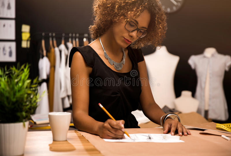 Stilista fotografie stock libere da diritti