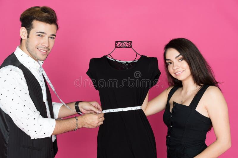 Stilista And Assistant immagine stock libera da diritti