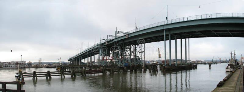 Still bridge in Gothenburg, Sweden stock image