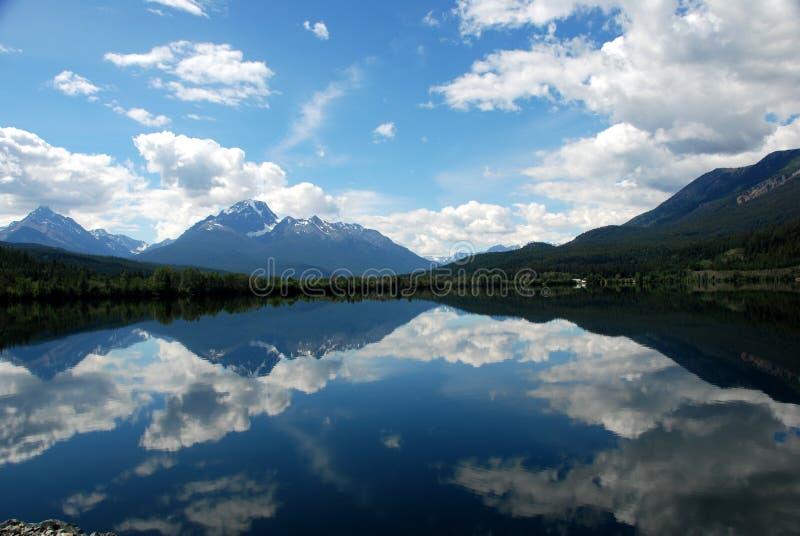 Still lake stock image