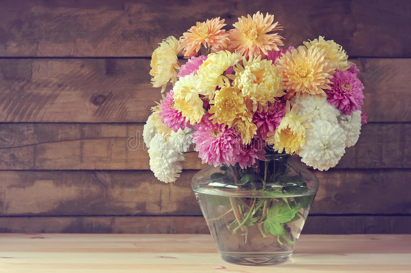 Still life with a bouquet. stock photography