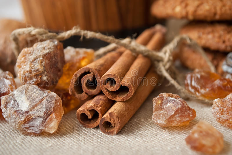 Download Still life with cinnamon stock photo. Image of isolated - 18699688