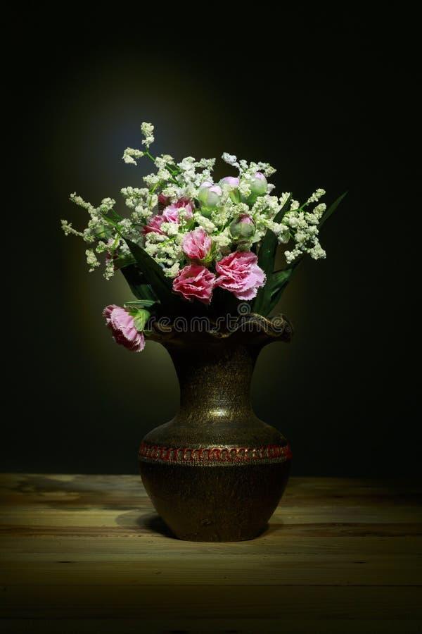 Still Life Cloth Flower. royalty free stock image