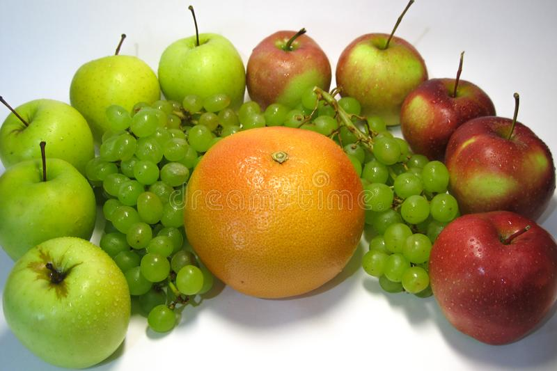 Still life consisting of such marvelous-looking, and such unforgettable fruit taste. royalty free stock photo