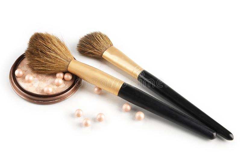 Still life with cosmetics royalty free stock image