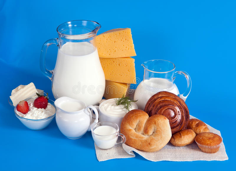 Download Still Life With Dairy Products Stock Photo - Image: 26054790