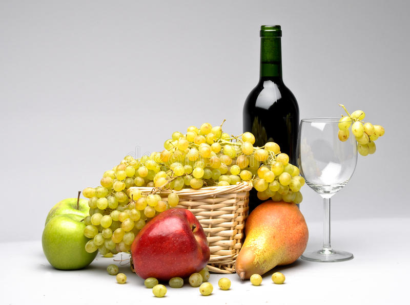 Still life with food stock photography
