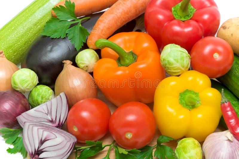 Still life of fresh vegetables royalty free stock image