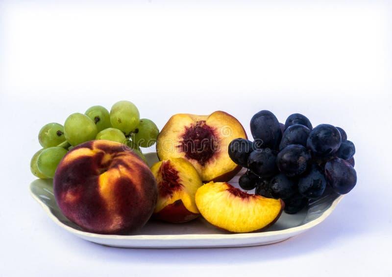 A still Life Fruit Dish stock photos