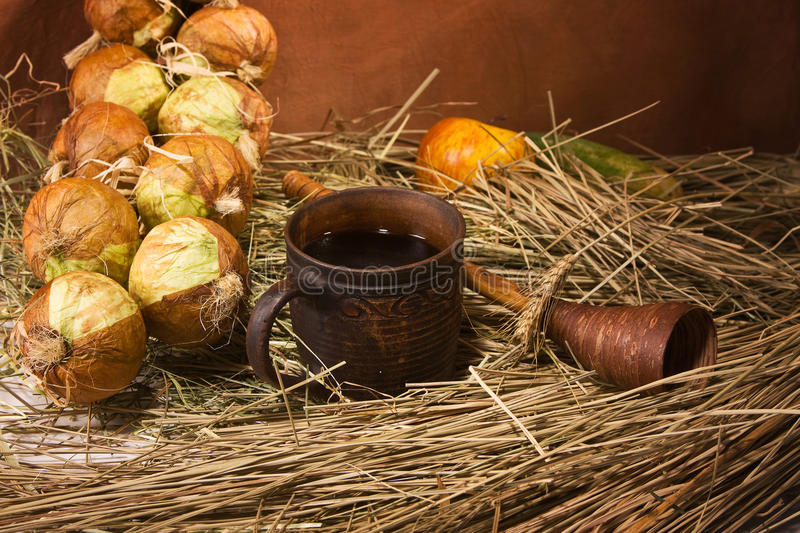Download Still Life With Fruit And Vegetables Stock Photo - Image: 16735526