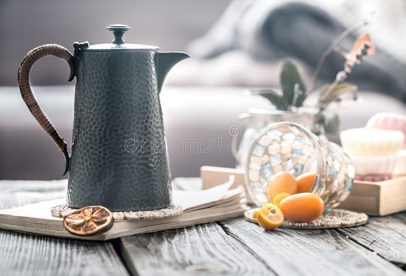 Still life in the home interior royalty free stock photography