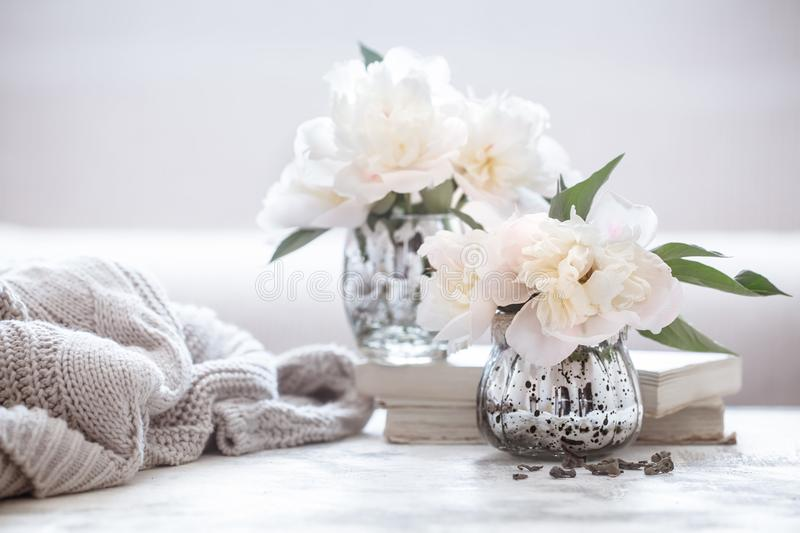 Still life home cosiness royalty free stock photography