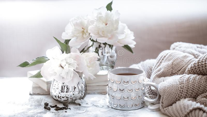 Still life home cosiness royalty free stock image