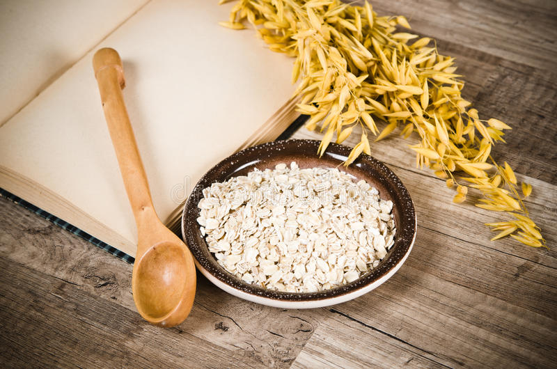 Download Still Life With Oatmeal Royalty Free Stock Photos - Image: 30183678