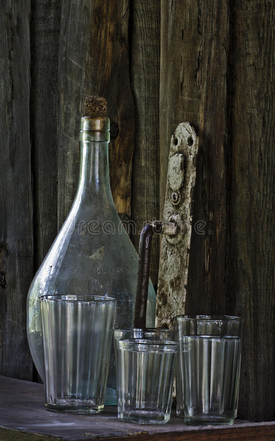 Download Still life - old things stock image. Image of aged, bottle - 23404557