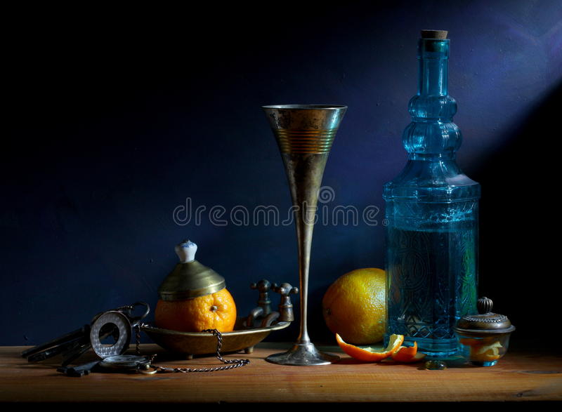 Download Still Life with Orange stock image. Image of romantic - 24395559