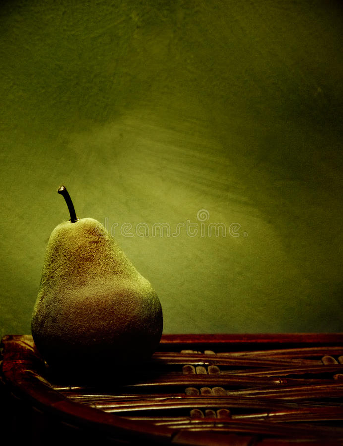 Still Life Pear royalty free stock photos