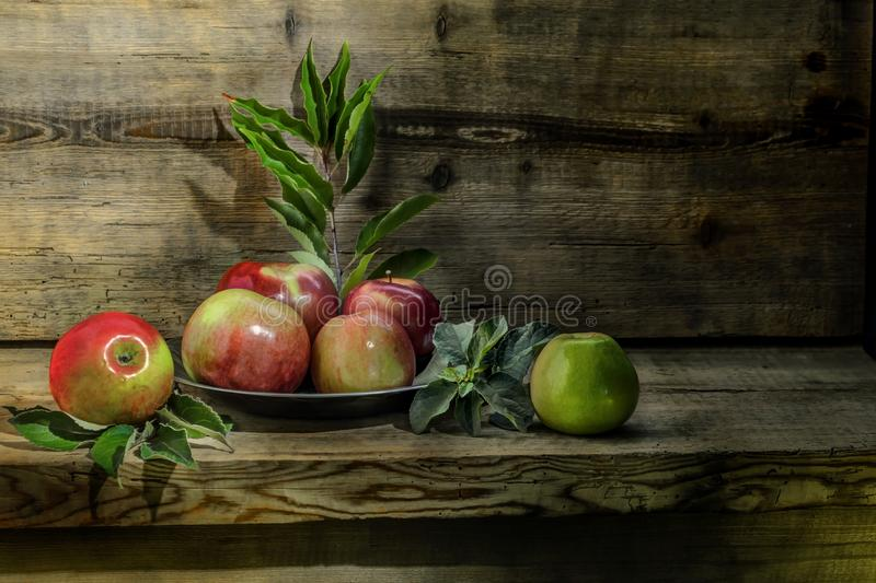 Still Life, Still Life Photography, Fruit, Painting royalty free stock image
