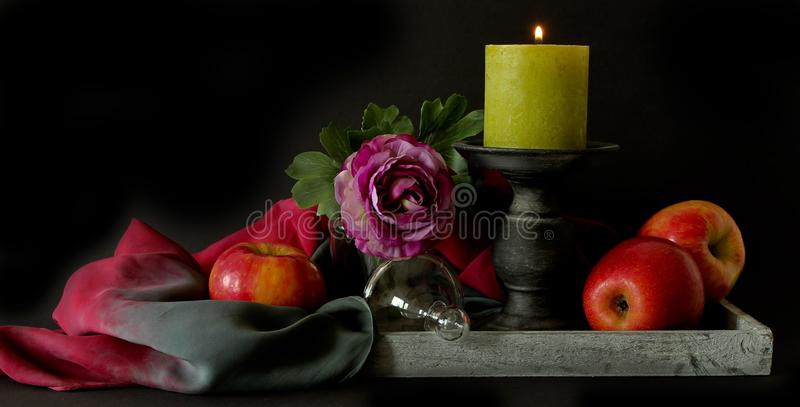 Still Life, Still Life Photography, Painting, Lighting royalty free stock image