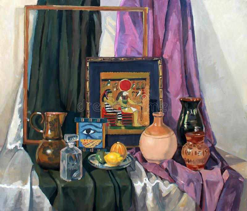 Still life painting picture royalty free stock photography