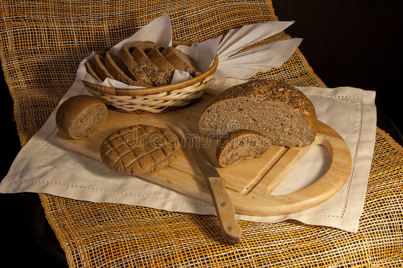 Download Still life with rye bread stock photo. Image of traditional - 23920672