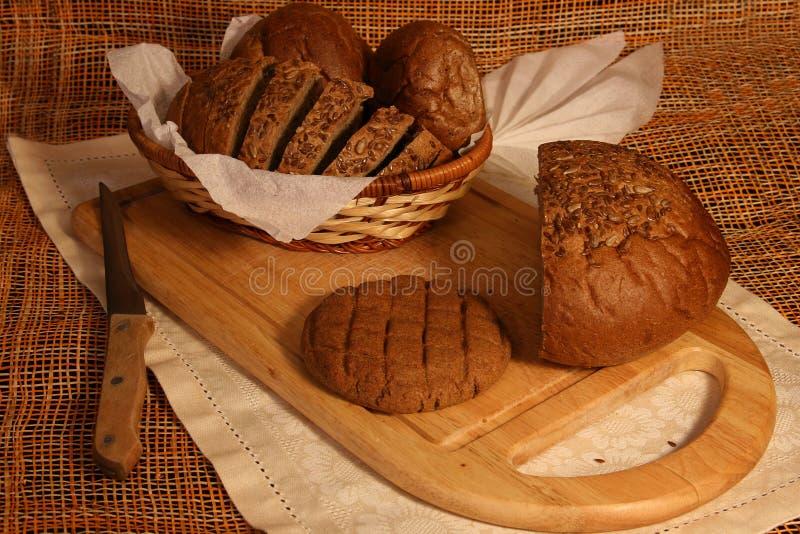Still life with rye bread