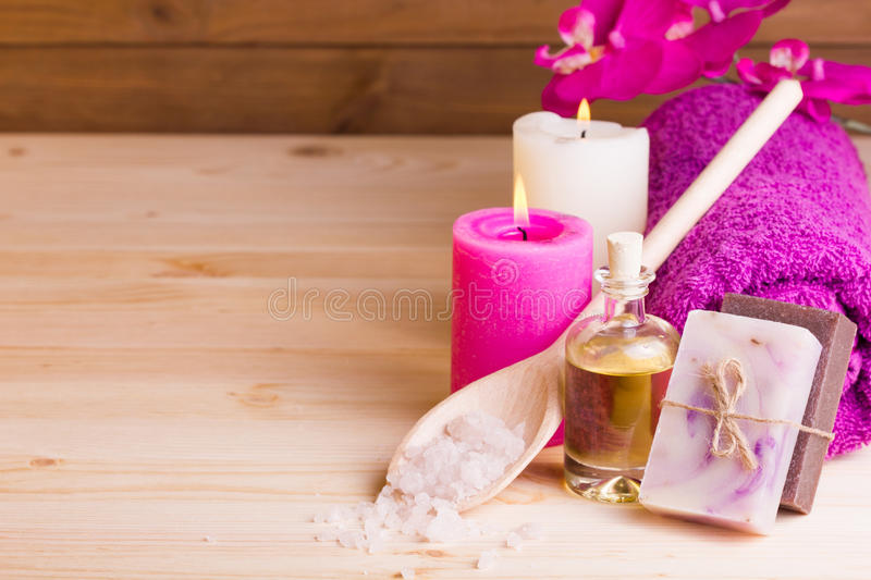 Still life SPA concept royalty free stock image