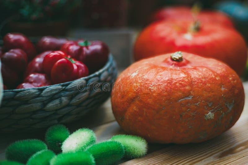 Still-life of Thanksgiving Day vegetables stock photos
