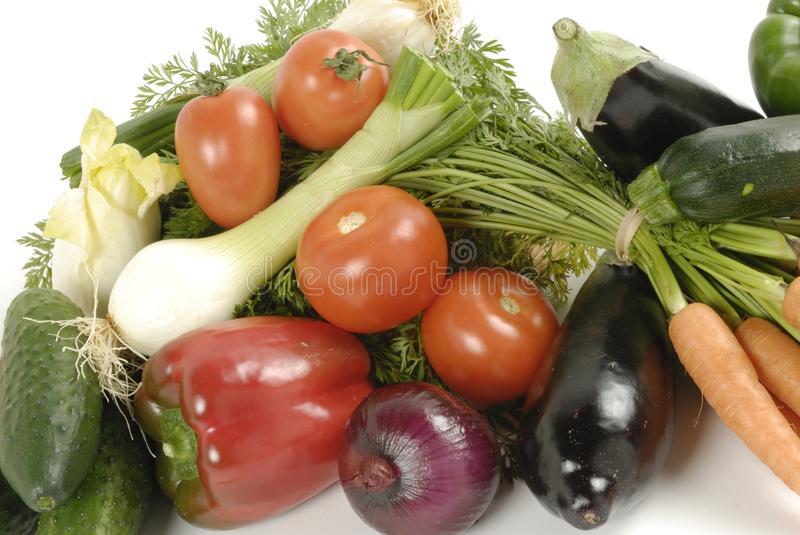Still life with vegetables stock photos