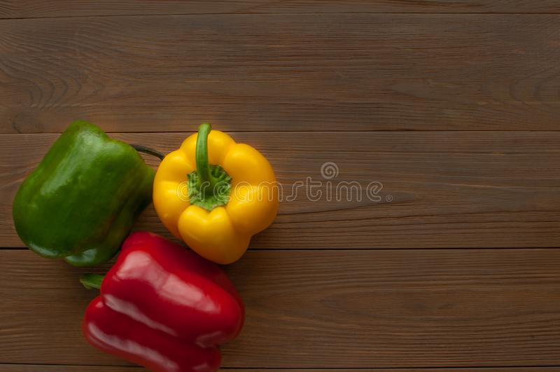 Still-life with vegetables. Perets. stock photos