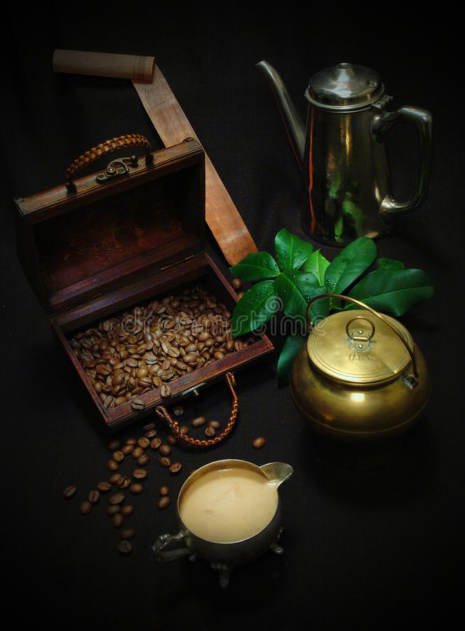 Still life with coffee royalty free stock images