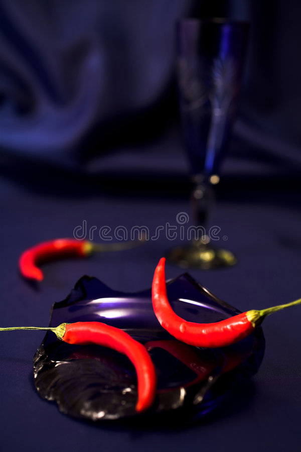 Free Still Life With Red Peppers. Stock Photo - 1983650