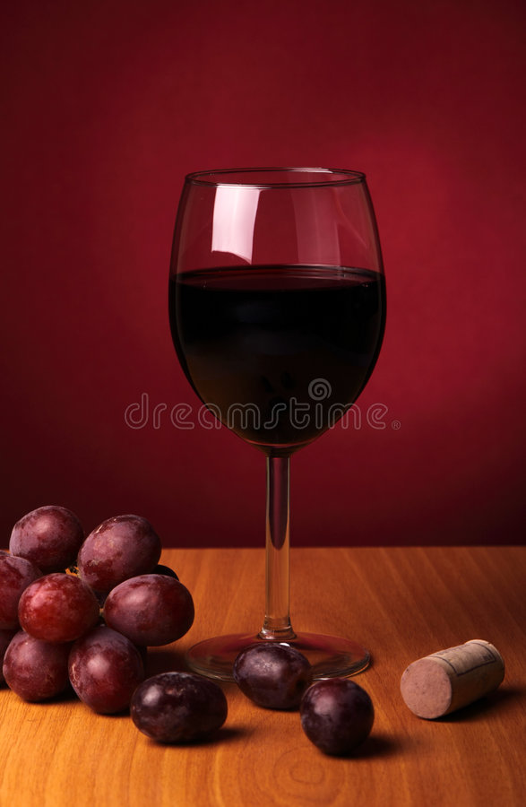 Free Still-life With Red Wine Stock Image - 8174401
