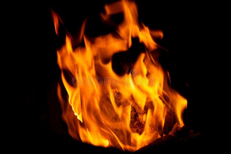 Still life. wood fire burning. winter. christmas royalty free stock photo