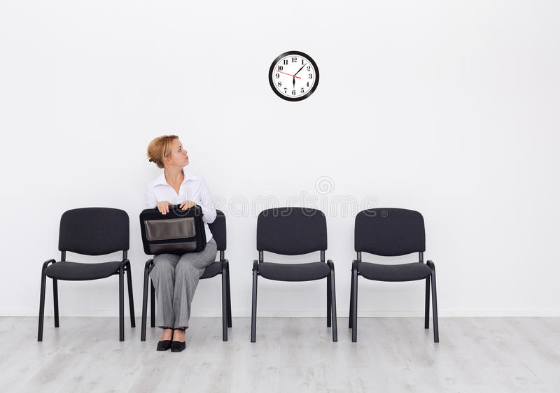 Still waiting for that ... royalty free stock image