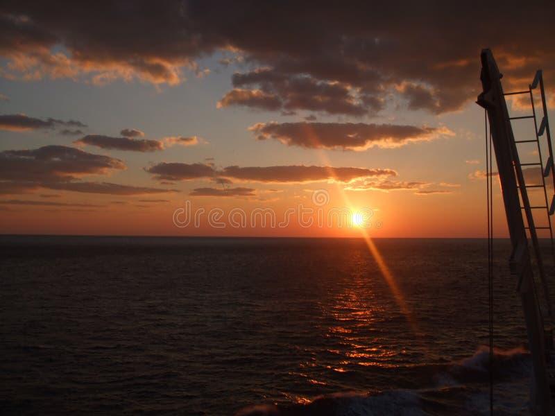 Stillahavs- hav arkivfoto
