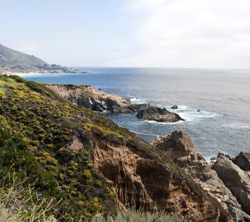 Stillahavs- Kalifornien kusthav fotografering för bildbyråer
