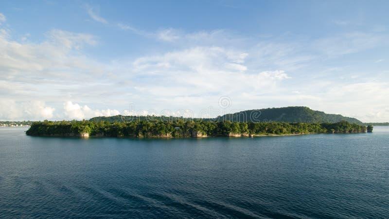 Stillahavs- söder för öar arkivbilder