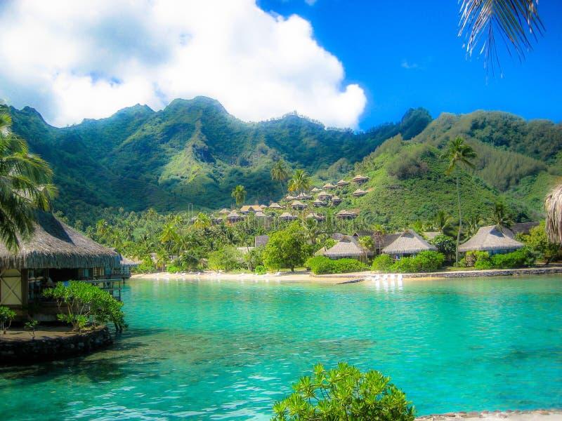 Stillahavs- söder för öar royaltyfria bilder