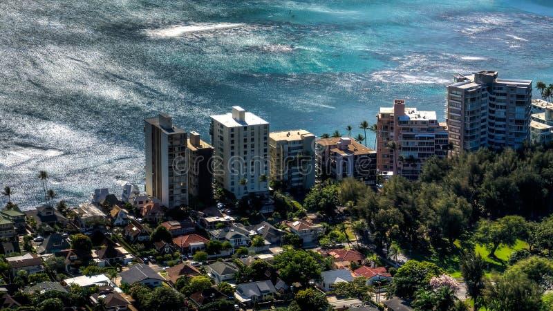 Stillahavs- sikt för hav royaltyfri bild