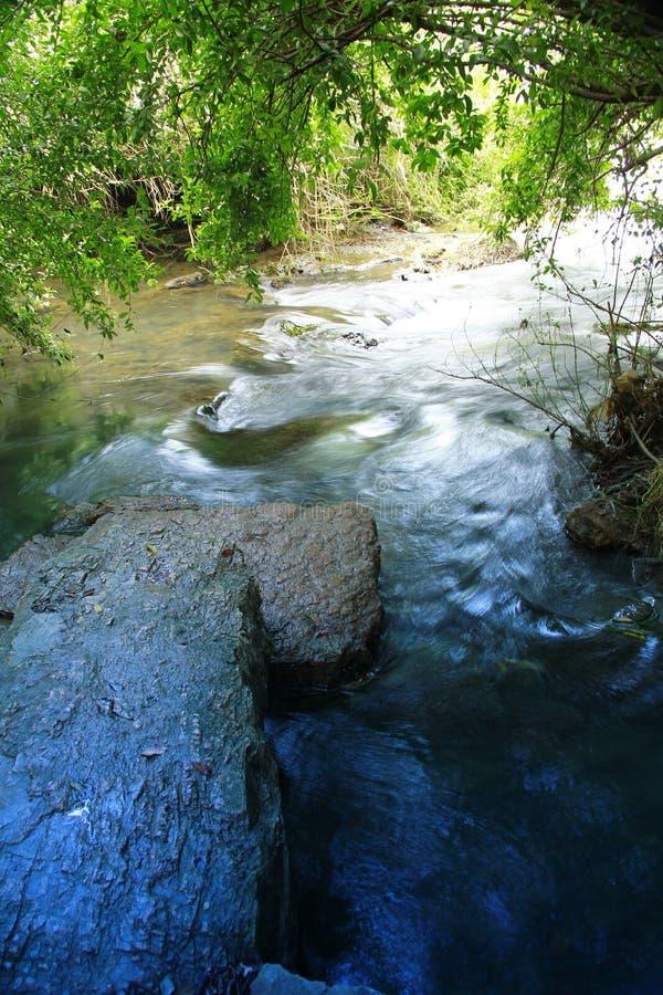 Stille rivier royalty-vrije stock fotografie