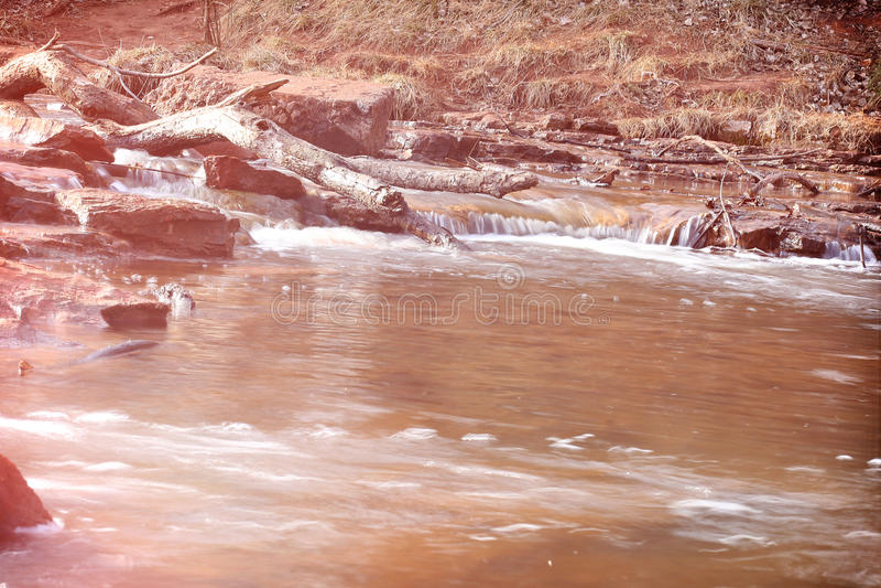 Stille wateren stock foto