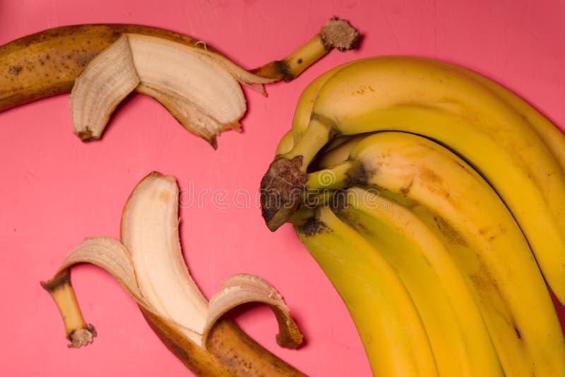 Stilleben för popkonst med bästa sikt för banan arkivbilder