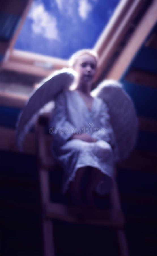 Stiller Engel lizenzfreies stockfoto