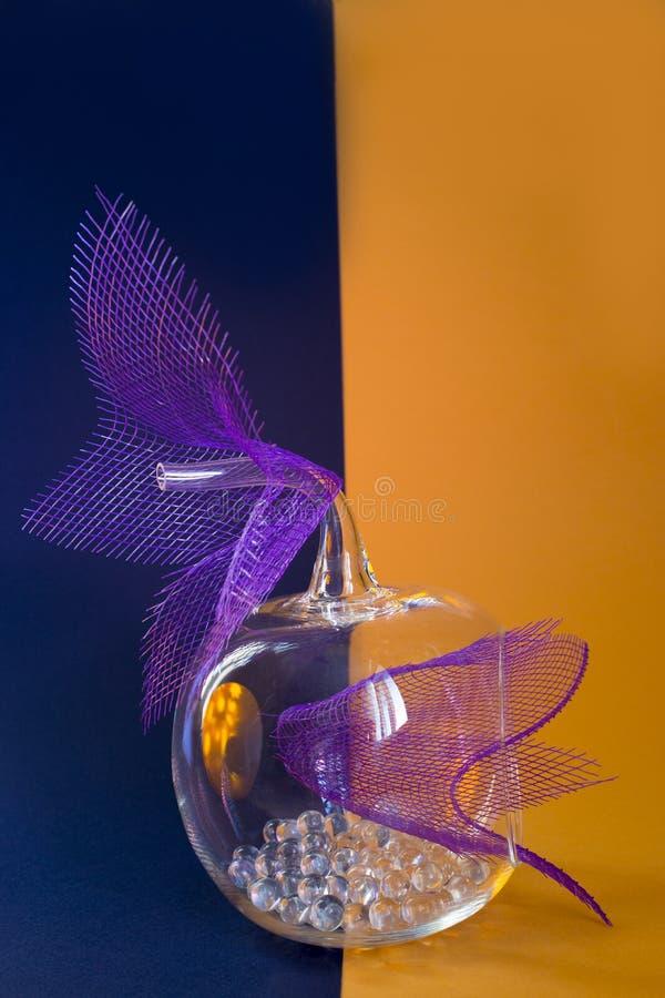 Stilleven met glas royalty-vrije stock foto