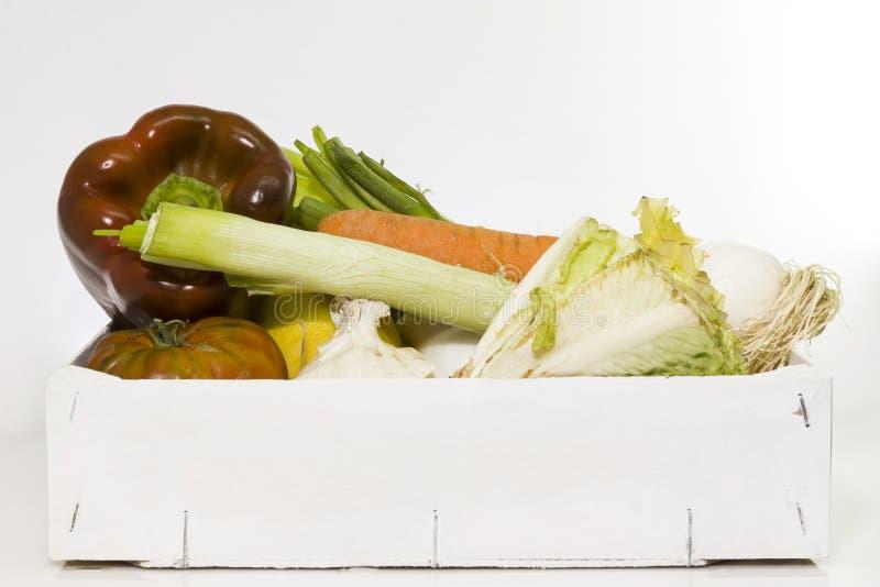 Stilleven van groenten stock foto