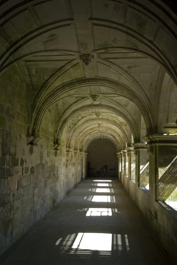 Stilleven van kloostergang, Spanje stock foto's