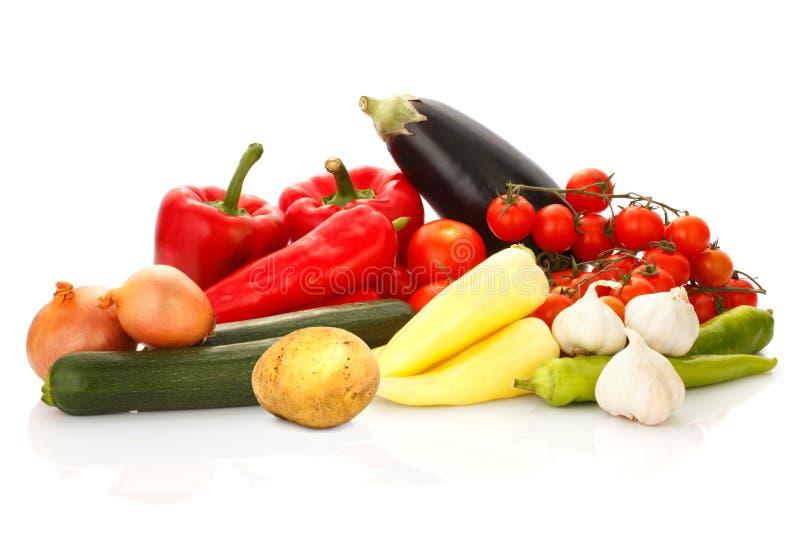 Stilleven van Vruchten en Groenten royalty-vrije stock afbeelding