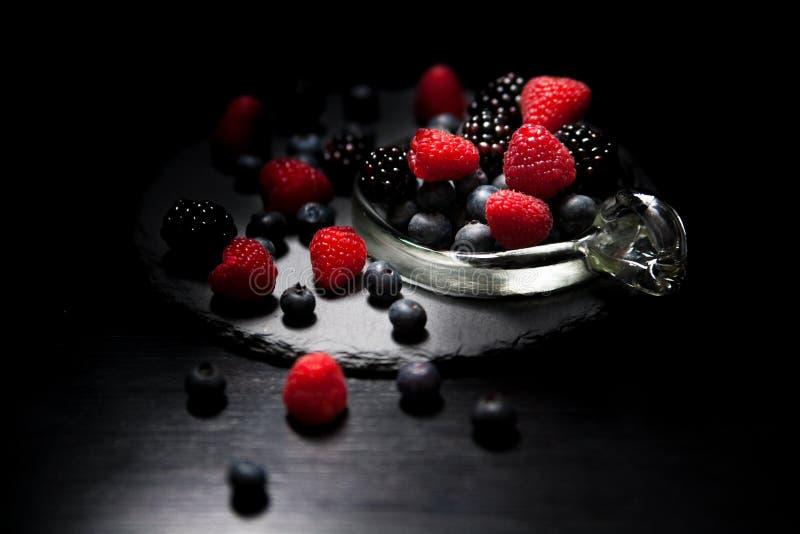 Stillevenfotografie, Bes, Fruit, Frutti Di Bosco stock afbeelding
